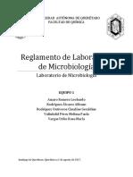 Reglamento Lab de Microbiologia