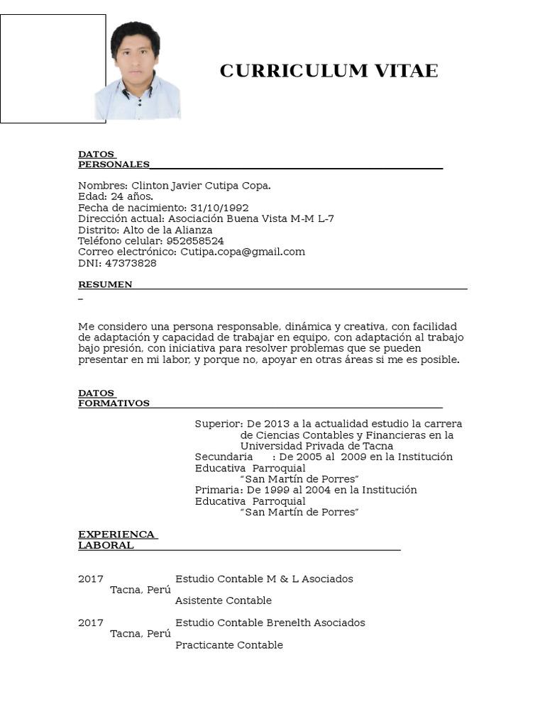 Único Mi Asistente De Currículum Ornamento - Ejemplo De Colección De ...
