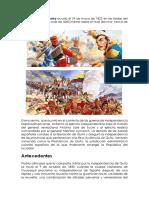 La Batalla de Pichincha-Andrea