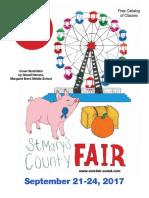 St Mary's County, Md. Fair Catalog 2017
