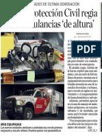 03-08-17 Por fin, Protección Civil regia  tiene ambulancias 'de altura'