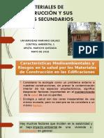 Materiales de Construcción y Sus Efectos Secundarios 2015