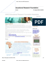 AVKO Newsletter 2010-08-06