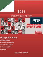 220542700 Strategic Audit