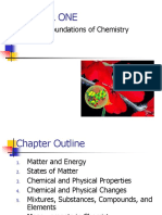 CHAPTER 01 the Foundation of Chemistry