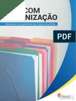E-book Sobre Organização - Triadps