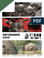 Novedades Yermo Septiembre 2017