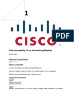 ICND1 Cisco study notes