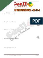 Examen Matemática 4to Grado