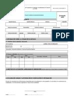 Formulario de Postulacion a Pasantias-modalidades de Titulacion en Ypfb