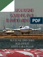 ASPL633 Space Transportation Regime
