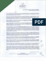 Reglamento para el trámite de recepción de renuncias y denuncias por acoso y violencia política de mujeres candidatas, electas o en función política pública
