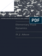 (Oxford Applied Mathematics and Computing Science Series) D. J. Acheson-Elementary Fluid Dynamics-Oxford University Press, USA (1990)
