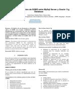 Paper Análisis y evaluación de rendimiento de gestores de bases de datos
