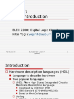 VHDL Overview