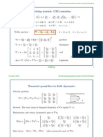 Lecture # 02 Goverening Equations and Its Discritization