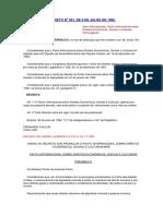DECRETO N 591 - Pacto Internacional Dos Direitos Econômicos, Sociais e Culturais