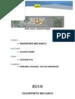 Informe de Oleoductos