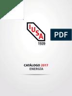 Iusa Catalogo Energia 2017
