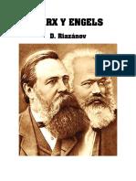 David Riazanov, Marx y Engels.pdf