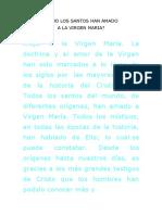 COMO LOS SANTOS HAN AMADO.doc