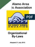 2015 Aaaa by-laws