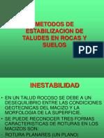 Metodos de Estabilizacion de Taludes en Suelos y Rocas 161103051100