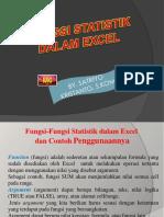 m6 Fungsi Satitistik Dalam Excel