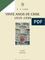 Vinte Anos de Crise - Carr