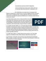 Normas y Recomendaciones Para La Presentación de Diapositivas