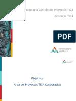Metodología Gestión de Proyectos TICA Alto Nivel 2.2