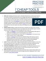 5 Dirt Cheap Tools