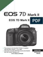 EOS 7D Mark II Instruction Manual En