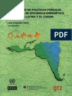 Intensidad Enenrgetica America y El Caribe