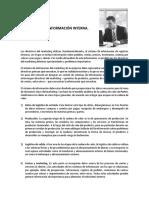 UNIDAD II Subsistema de Informacion