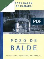 POZO de BALDE_Rosa Bazan de Camara