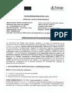 ACTA DE INFRACCION N° 3797-2013-MTPE