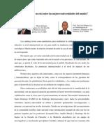 Artículo -Por Qué La UASD No Está Entre Las Mejores Universidades Del Mundo- Reflexión Rolando y Yuly José Polanco