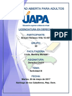 Tarea 3 Derecho Civil II 30-05-2017