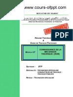M07 Connaissance de La Mecanique Theorique RDM BTP TSCT
