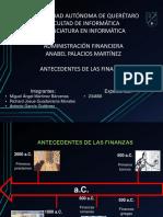 Historia de Las Finanzas y Más