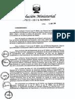 RM23 2015 MINEDU NT de Contratación Docente