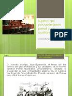 Sujetos Del Procedimiento Penal y Sus Auxiliares