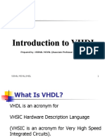 01_Introduction to VHDL