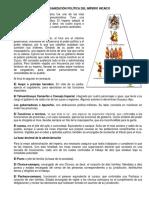 Organización Politica, social y economica Del Imperio Incaico y Azteca