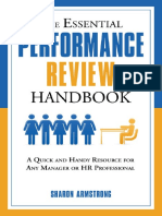 Sharon Armstrong-The Essential Performance Review Handbook