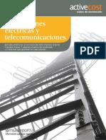 Introducción de catálogo Instalaciones eléctricas y telecomunicaciones BIMSA