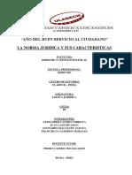 Caracteristicas Normas Juridicas