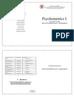 Psychometrics Testing Scoring