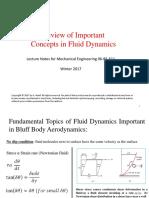 Bluff Body Aerodynamics - Lecture 1